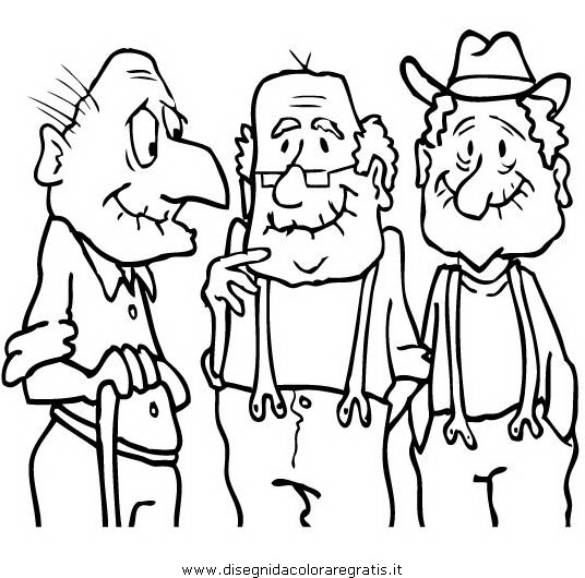 Abuelo Coloring Pages