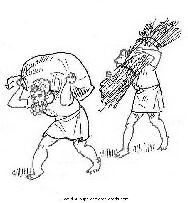 Dibujo esclavos4 en la categoria personas diseos