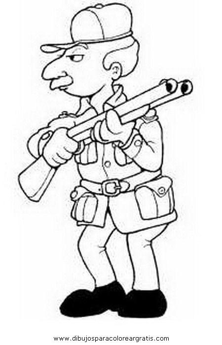 Dibujo cazador_2 en la categoria personas diseños