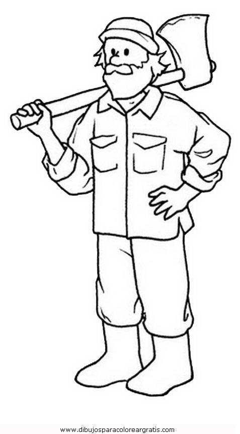 Dibujo Lenador 1 En La Categoria Personas Diseños