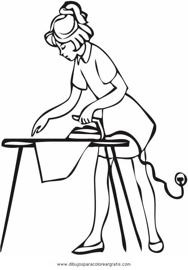 Dibujo limpieza_4 en la categoria personas diseos