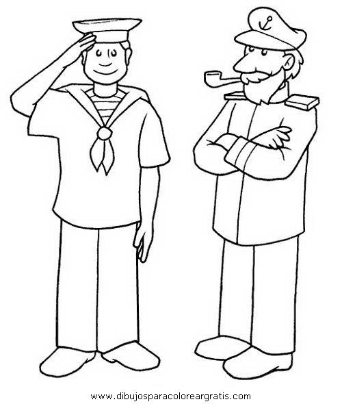 Dibujo marinero_0 en la categoria personas diseños