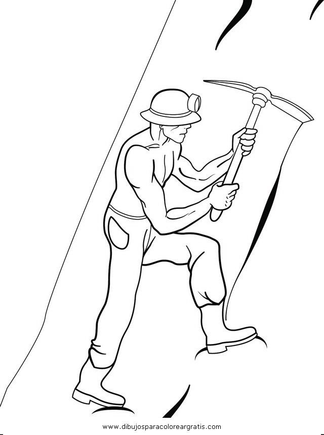 Dibujo Minero2 En La Categoria Personas Diseños