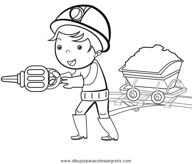 economia do municipio de coloring pages | Dibujo minero_3 en la categoria personas diseños