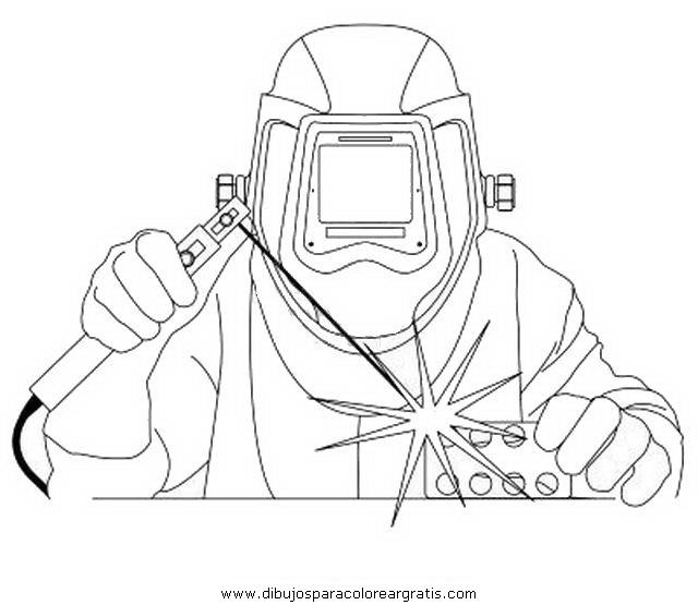 Dibujo Soldador En La Categoria Personas Diseños
