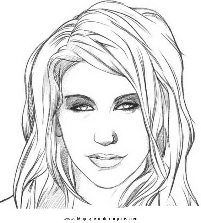 Caras de personas para dibujar - Imagui