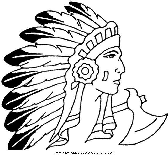 Индейцы картинки раскраски