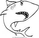 Tiburones dibujos para colorear gratis for Squali da colorare